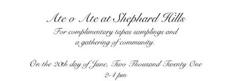 Please Join Us at Shephard Hills on June 20 for our Soft opening